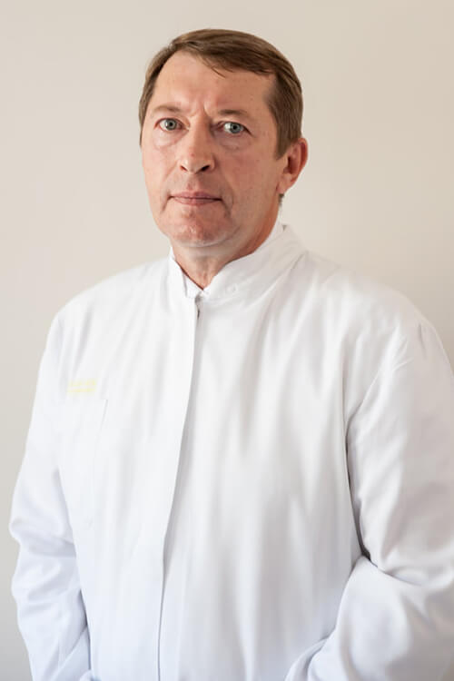 Gydytojas kraujagyslių chirurgas Arvydas Mangalenga